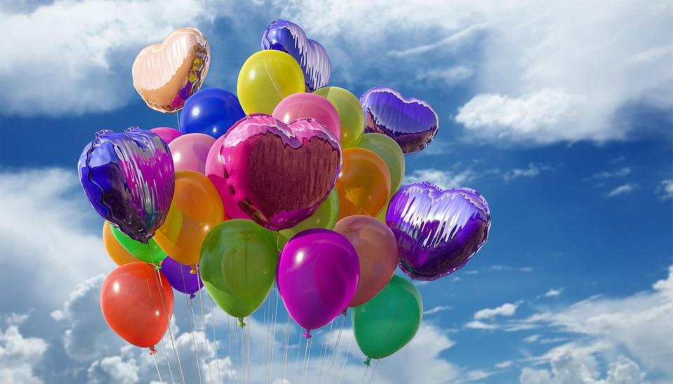 Balony na wesele z nadrukiem